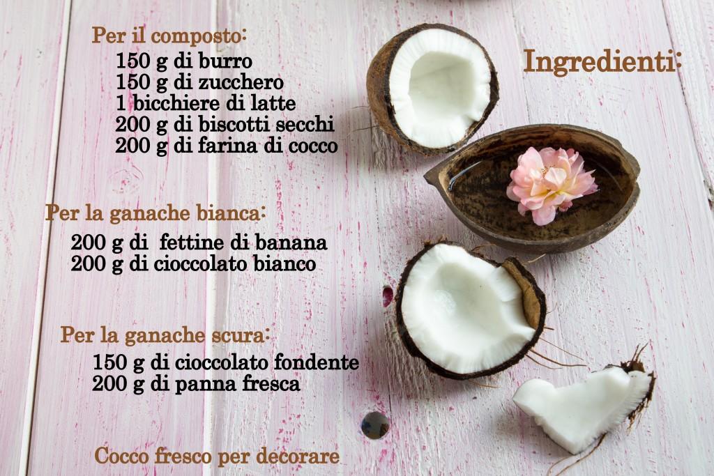 ricetta ciocco cocco