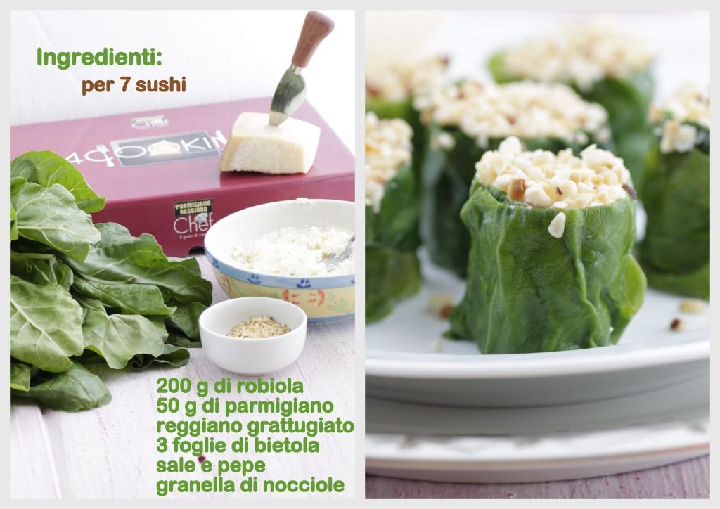 sushi con ricetta