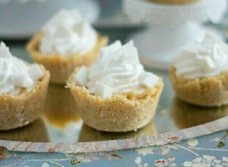 Tartellette al cocco fresco per Cakes Lab