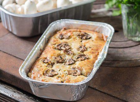 Cake salato funghi e prezzemolo