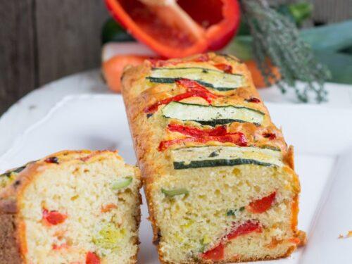 Cake alle verdure grigliate