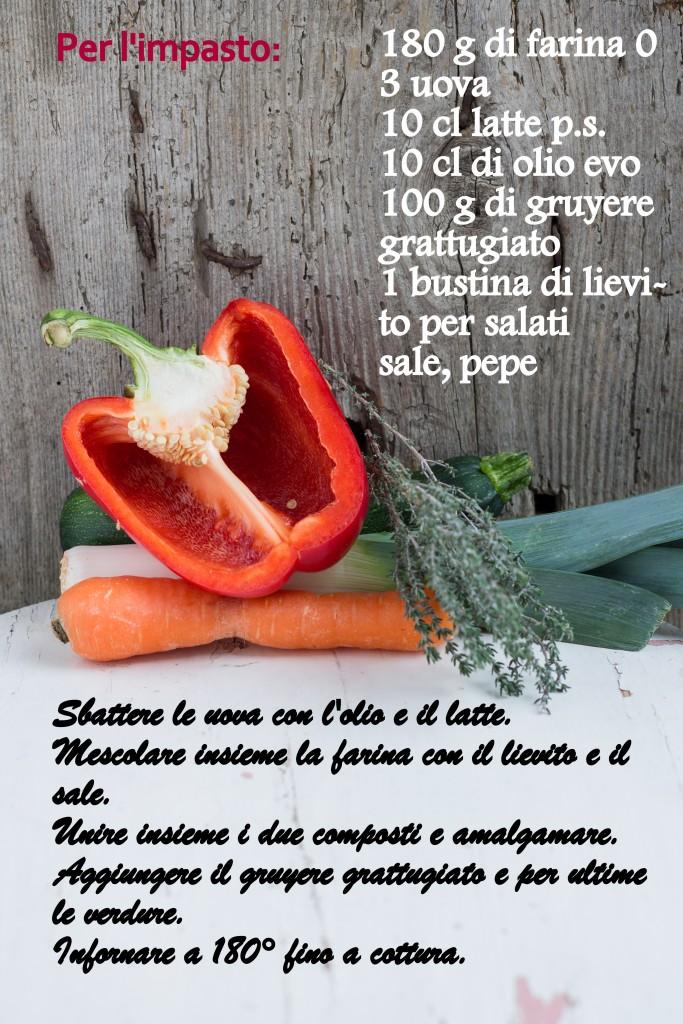 ricetta cake salato