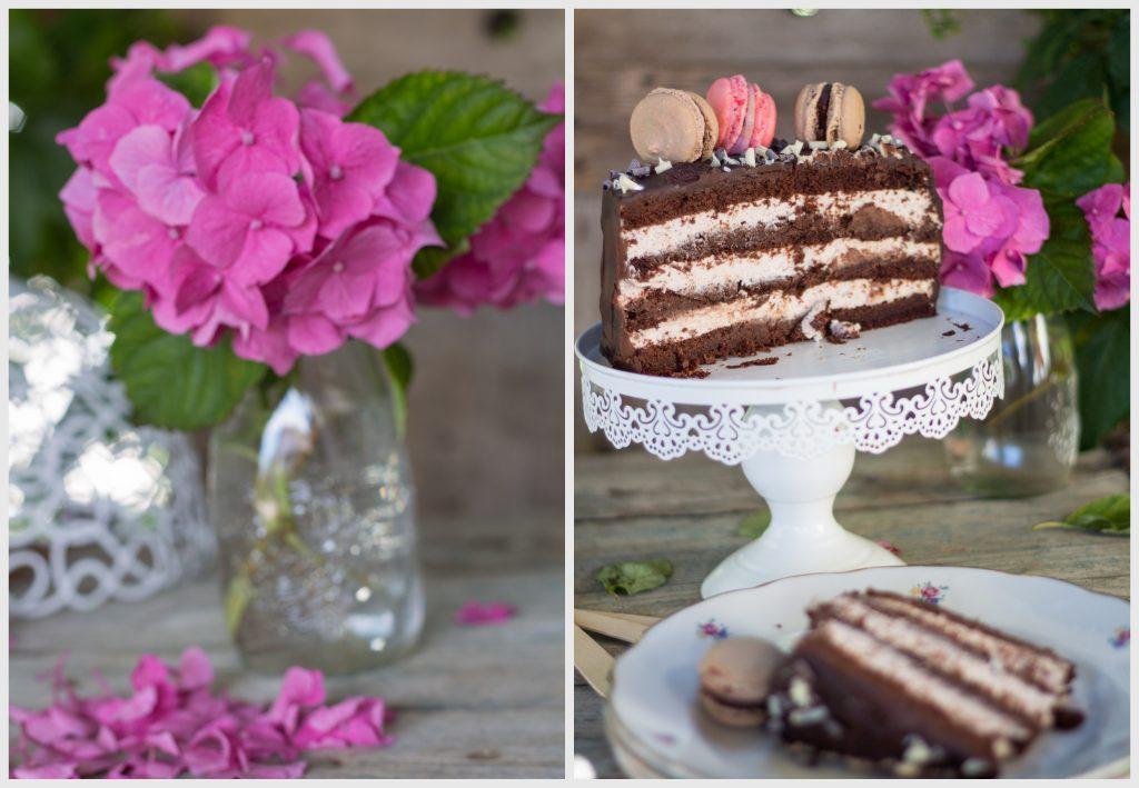collage torta di compleanno