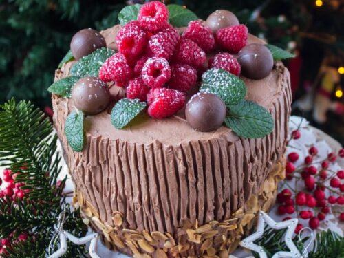 Panettone farcito al cioccolato