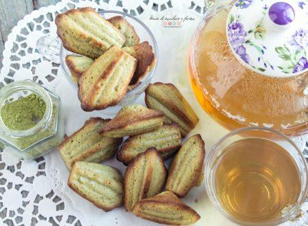 Madeleines al tè verde Macha