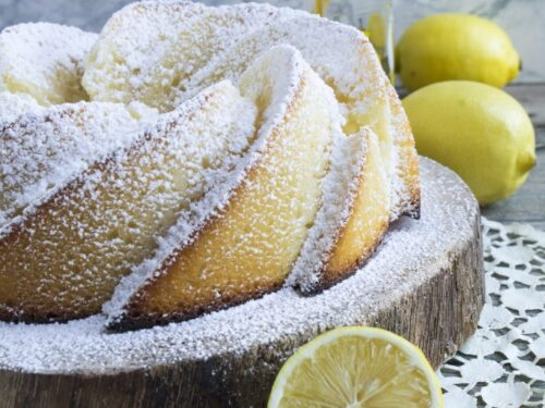 Ciambella all'acqua al limone