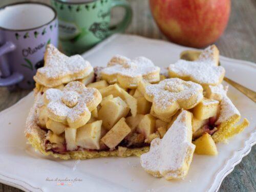 Crostata di mele e panettone
