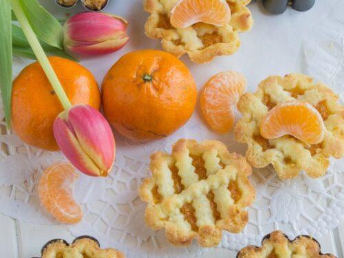 Crostatine con marmellata di mandarini