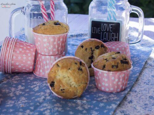 Muffins con cuore morbido di cioccolato