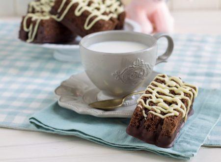 Tegolini con farina di farro e cioccolato gianduia