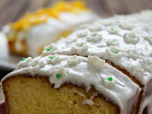 PLUM CAKE AL LIMONE GLASSATO