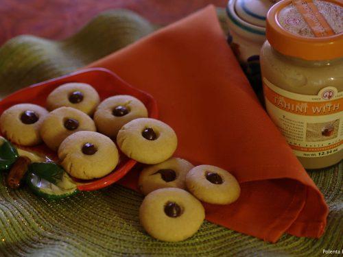 Biscotti al Tahini con Miele