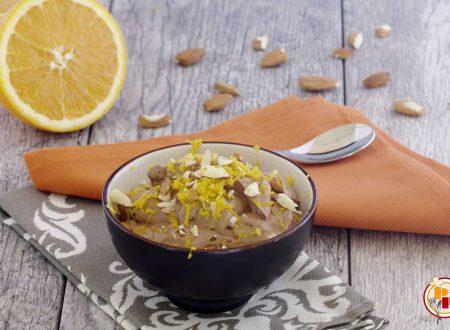 Mousse di Yogurt al Cacao e Arancia