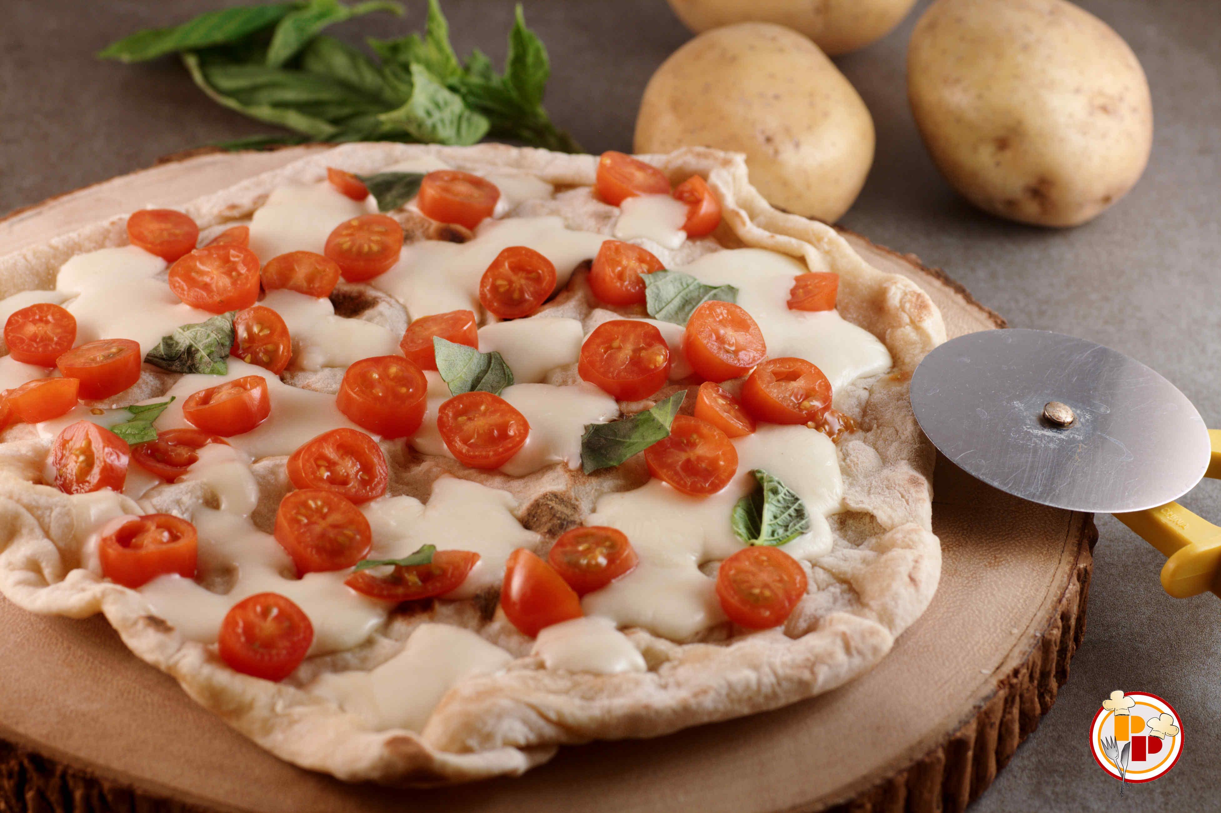 Pizza Alle Patate Recipe — Dishmaps