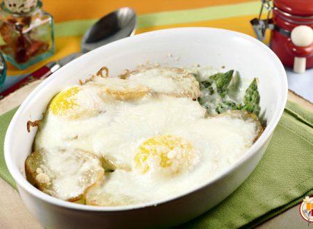 Patate, Asparagi e Uova alla Savoiarda
