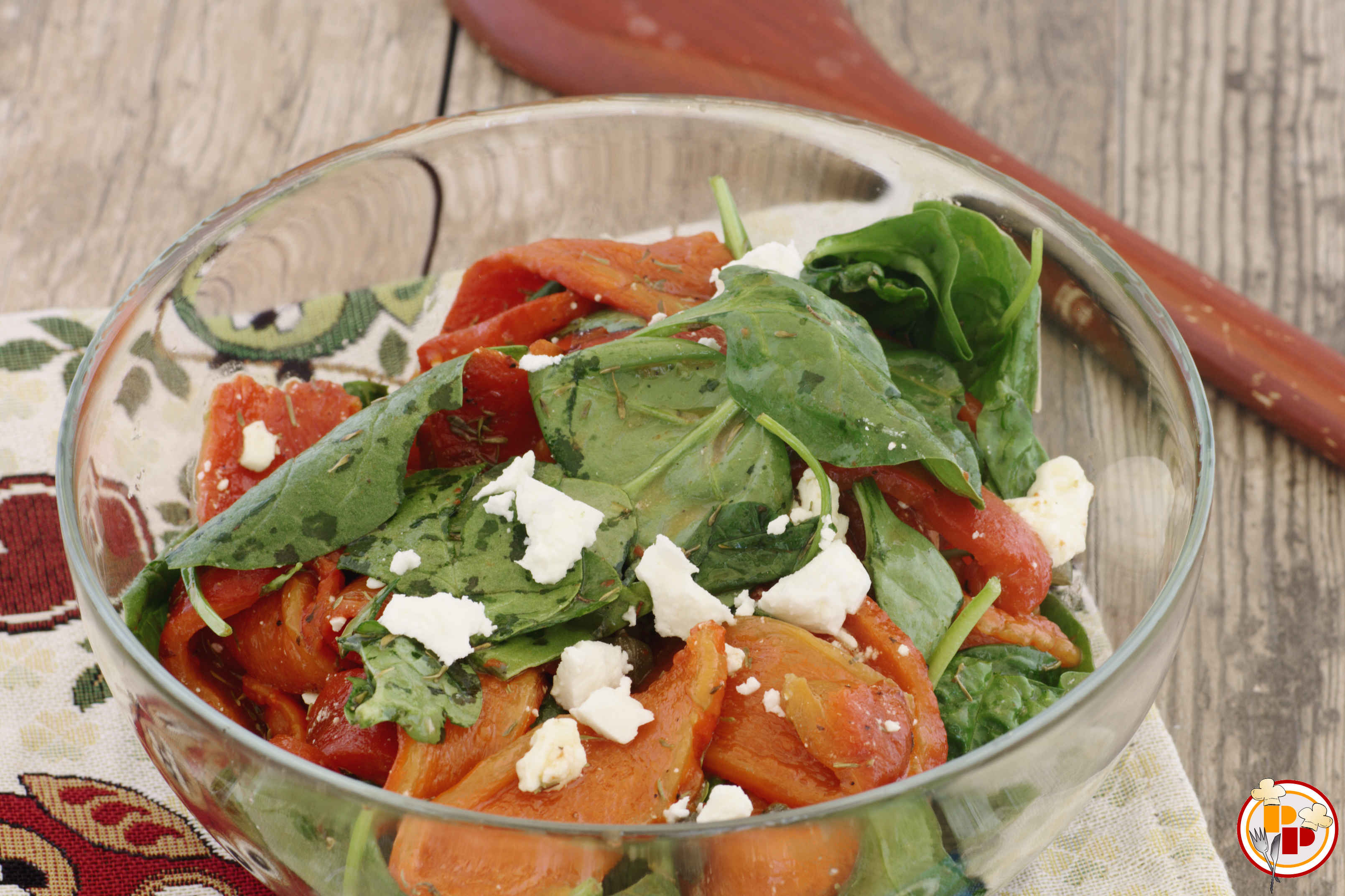 peperoni marinati in insalata