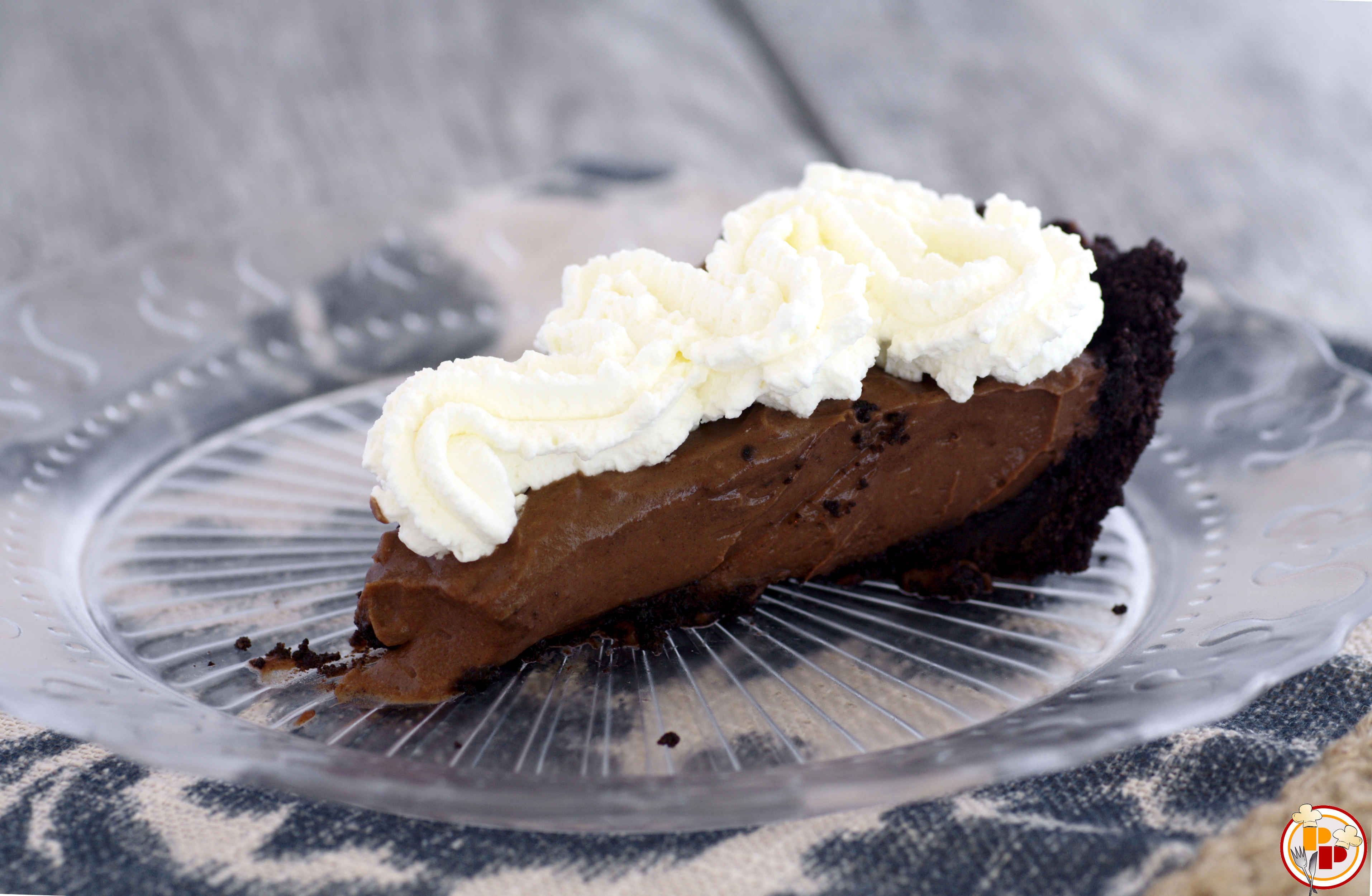 Torta Fredda alla Crema di Cioccolato