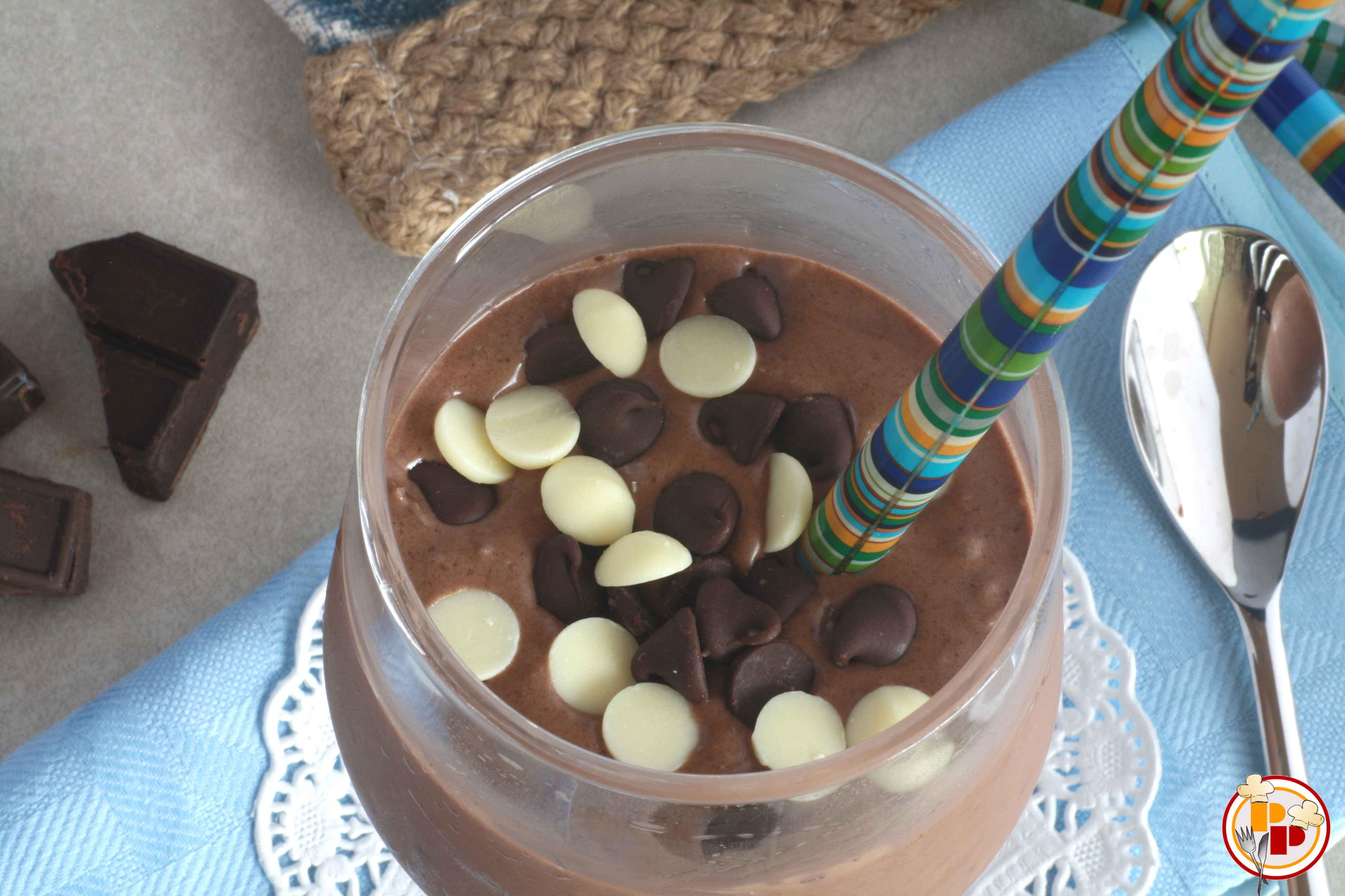 Crema Fredda al Cocco e Cioccolato