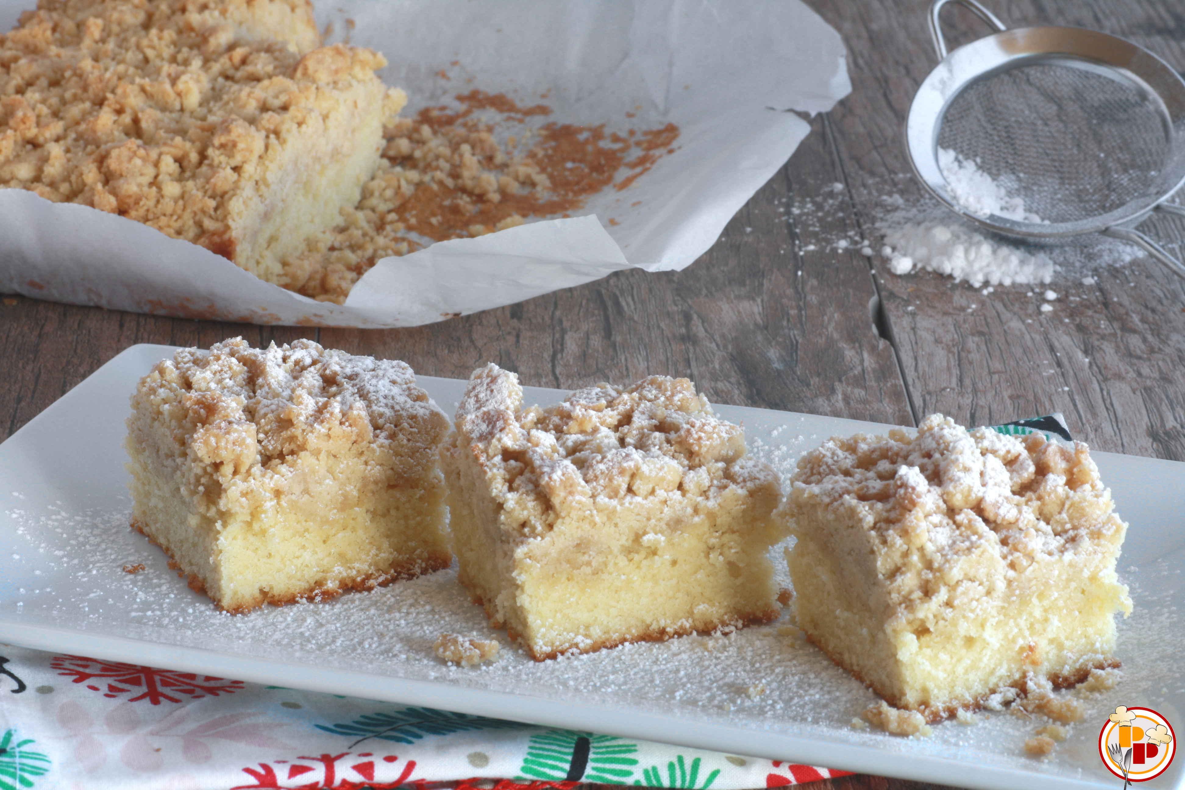 Torta Sbriciolata Americana (New York-Style Crumb Cake)