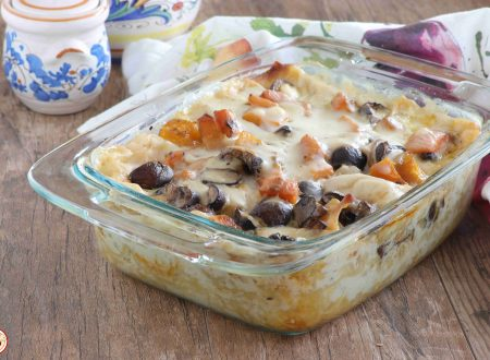Lasagne Bianche Zucca e Funghi