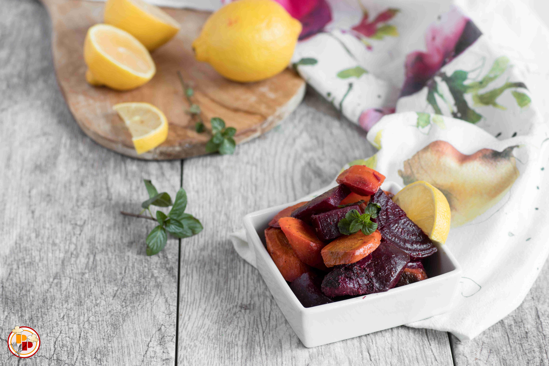 Insalata di barbabietole e carote al limone for Cucinare barbabietole