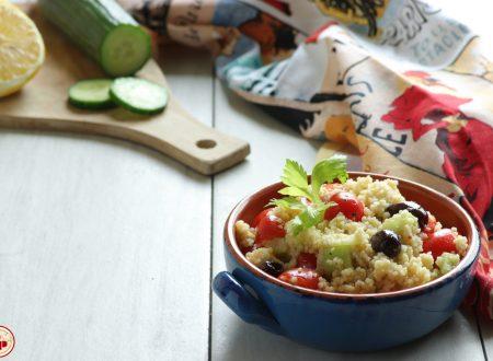 Couscous con Pomodorini e Feta