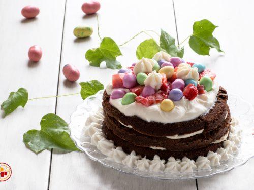 Torta al Cioccolato e Crema di Ricotta