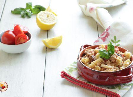 Insalata di Pasta con Pomodorini e Tonno al Limone