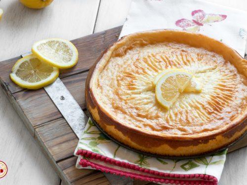 Torta Ricotta e Limone Senza Uova