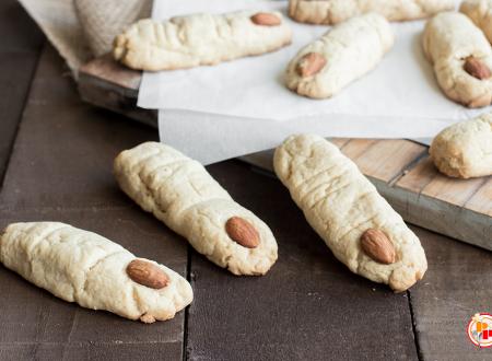 Biscotti Dita della Strega con farina di Mandorle