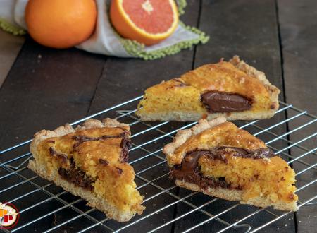 Crostata Pan d'Arancio con Nutella