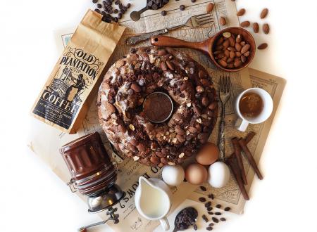 Ciambella della Nonna al Cacao – con Gocce di Cioccolato e Uvetta
