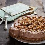 Torta Fredda Cioccolato e Mandorle