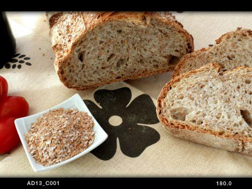 Cruscopan 2.0 – pane semi integrale con crusca