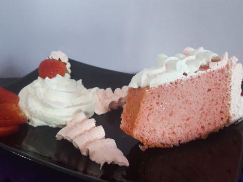 Angel Cake alla fragola
