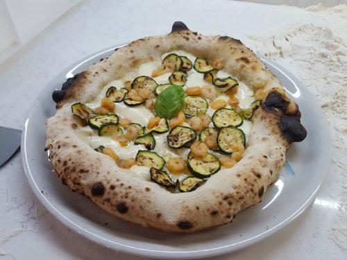 Pizza napoletana con biga