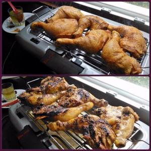 Pollo alla griglia elettrica tempo di cottura