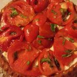 Crostata morbida salata solo pomodori