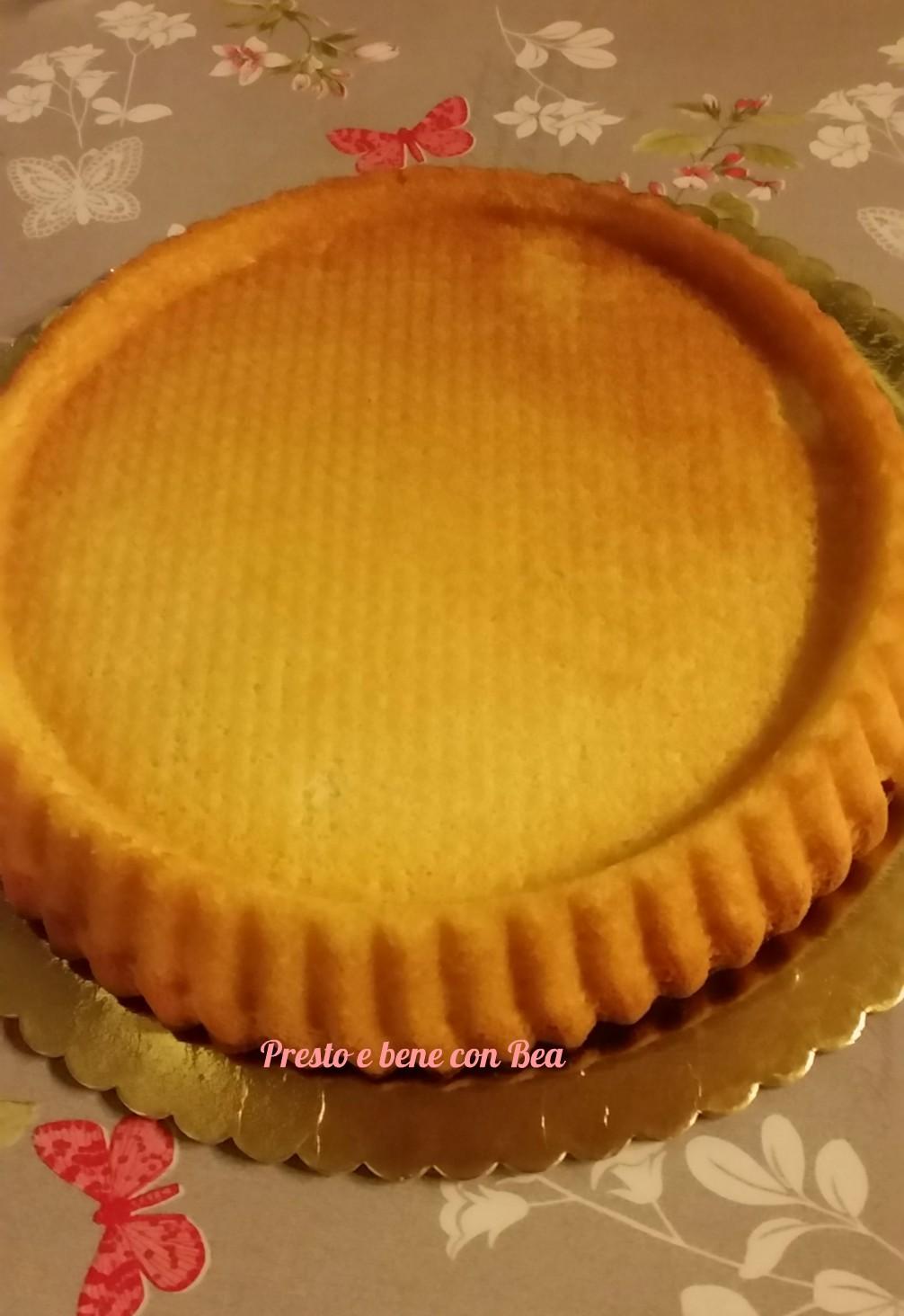 Base crostata morbida dolce