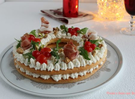 Cream-tart salata al vino e formaggi