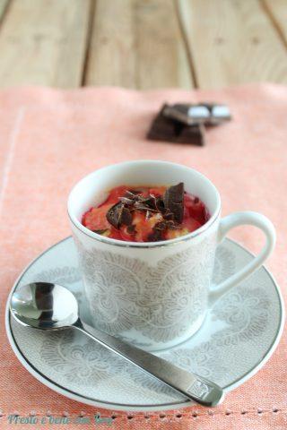 Zuppa inglese in tazza