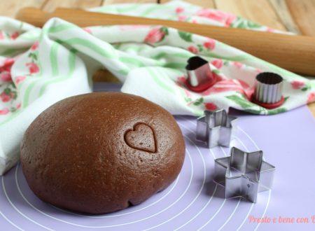 Pasta frolla al cacao senza burro