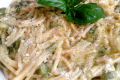 Pasta zucchine e uovo
