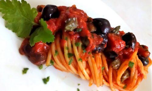 La Puttanesca (Olive e capperi)