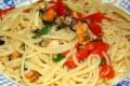 Linguine Con Cozze Vongole e Peperoni