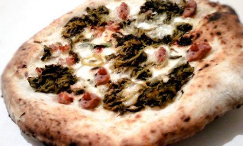 Pizza Salsicce,friarielli e provola