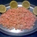 Gamberetti al limone