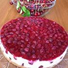 Cheesecake allo yogurt e ciliegie