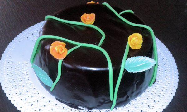 Mud cake con ganache al cioccolato