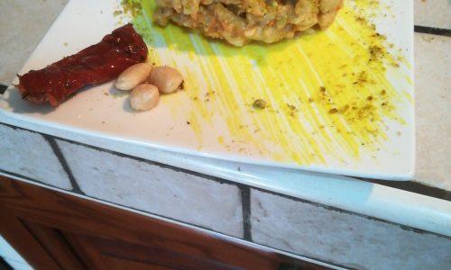 Busiate trapanesi al pistacchio